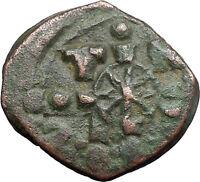 JESUS CHRIST Ancient Christian Byzantine Nicephorus III Follis1078AD Coin i48624