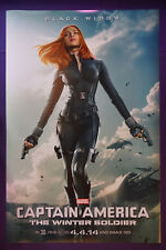 Captain America Scarlett Johansson Winter Soldier Movie Picture Poster 24X36 New