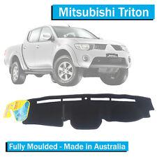 Mitsubishi Triton MN (2009-2015) - Dash Mat - Black - Fully Moulded - GLX GLR