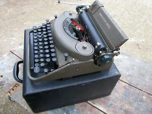Machine écrire Remington Rand (noiseless) Model 7 1946 Made in France