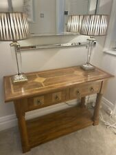 Barker Stonehouse Flagstone mango wood console/dressing table and mirror
