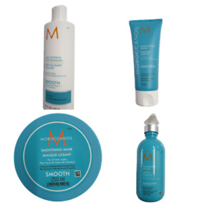 MOROCCAN OIL SMOOTHING SHAMPOO, CONDITIONER, MASK, LOTION, BLOW DRY + TRACK DELI