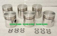 SEALED POWER Chrysler/Dodge/Plymouth 218ci 230ci Cast Pistons Set/6 1933-60 060