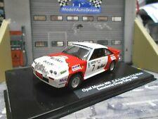OPEL Manta B 400 Rallye Drago 1986 #7 Lamberti Marl bor o UMBAU IXO base 1:43