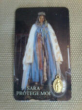 "BLACK MADONNA OF GYPSIES [SARA ""LA KALI""] POCKET PRAYING CARD"