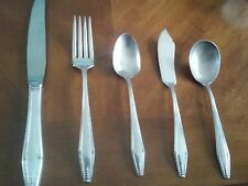 "State House Sterling Silver Flatware ""Formality"" Pattern 5 Pieces"