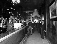 "1900-1910 Palm Garden Bar, Dayton, Ohio Vintage Photograph 8.5"" x 11"" Reprint"