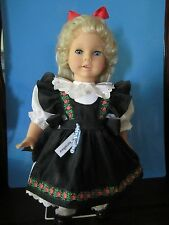 "ENGEL-PUPPE 17"" VINYL & CLOTH BODY DOLL:""DOROTHEA"" Made in Germany-NO BOX OR COA"