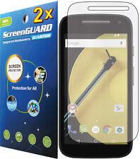 2x Clear LCD Screen Protector Cover Guard Verizon Motorola Moto E LTE 2nd Gen