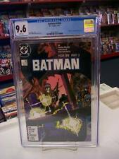 BATMAN #406 (DC Comics, 1987) CGC Graded 9.6! ~ YEAR ONE ~ White Pages