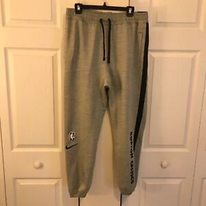 Nike Boston Celtics NBA Basketball Thermaflex Long Pants Men's L CU0553-063 NWT