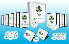 How You Can Use Shopify To Build an E-Commerce Business - Videos on 1 CD