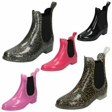 Girls Spot On Ankle 'Wellington Boots'