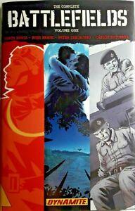 The Complete BATTLEFIELDS Vol I Garth Ennis 2009 HC/DJ 1st Printing 1 PREV OWNER