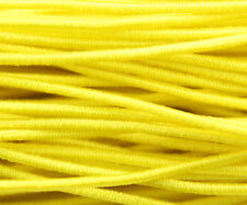 81ft Yellow 1mm Round Elastic Cord Beading & Crafts Shock Cord (3x9yds)