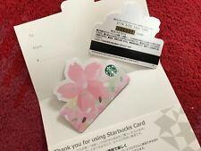 Japan Starbucks Sakura Cherry Blossom Sakura Breeze Paper Card 2020 Mini Size