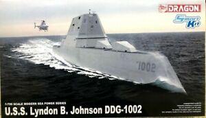 1/700 U.S.S. Lyndon B. Johnson (DDG-1002)  ~~ Cyber Hobby #7148