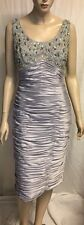 New! BJC Formal Dress Fully Lined Sz 14 Bead Encrusted Bodice RRP $ 600