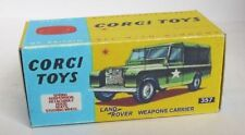 Repro Box Corgi Nr.357 Land Rover Weapons Carrier