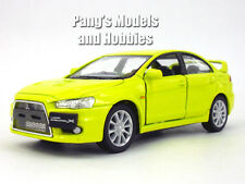 Mitsubishi 2008 Lancer Evolution 1/36 Scale Diecast Model by Kinsmart - YELLOW