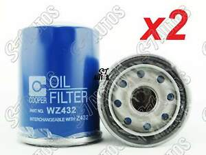 OUT OF STOCK Wesfil Oil Filter x2 WZ432 suit TOYOTA Avensis Camry Celica Hilux R