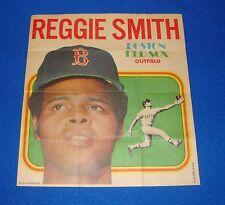 Vintage Topps Baseball Insert Poster Reggie Smith Red Sox