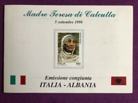 FOLDER ITALIA 1998 MADRE TERESA DI CALCUTTA