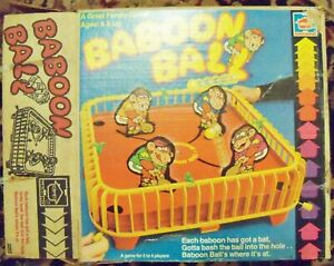 Baboon Ball Vintage Family Game (1981) Hasbro Complete toy fun play children