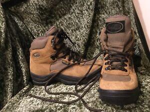 Vasque 7495 Gore-Tex Goretex Tan Suede Hiking Walking Lace Boots 7.5 8