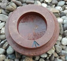 British Army Wooden Believed Artillery Fuse Cover Glenister 1972 WD Arrow Marked