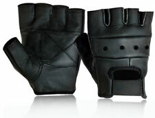 Weight Lifting Gym Padded Leather Fitness Training Sports Wheelchair Gloves M