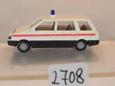 Rietze 1/87 Mitsubishi Spacewagon Bus Gendarmerie Polizei #2708
