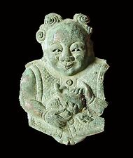 rare Chinese Tang Dynasty silver boy, excavated