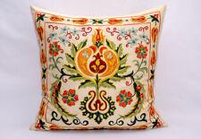 Pomegranate tree Silk handmade Embroidery Suzani pillow cover Uzbek silk Suzani