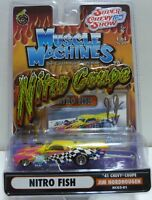 Muscle Machines NITRO COUPE-NITRO FISH  Series Die Cast Adult Collectible