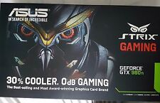 ASUS NVIDIA GeForce GTX 980 ti (6192 MB) (STRIX-GTX980TI-DC3-6GD5 - Gaming).
