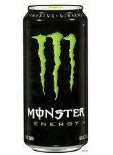 """MONSTER ENERGY CAN STICKER  OVER 11"""" TALL  COKE COCA COLA"""
