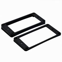 Black CURVED PICKUPS FRAME MOUNTING RING for neck and bridge pickup guitar parts