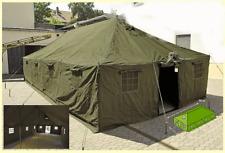 Tente militaire GRANDE 10m x 4,80m outdoor camping randonnée