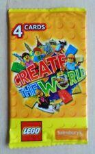 Lego Create The World Trading Cards  (Unopened Packs) sainsburys