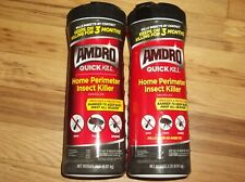 Qty 2 Amdro 100526851 Am414 Home Perimeter 2-lb Insect Quick Killer 4 Lbs Total
