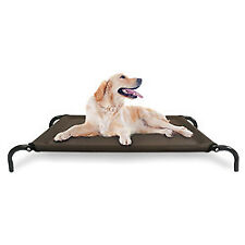 FurHaven Pet Dog Cot | Elevated Reinforced Pet Cot for Dogs & Cats - Size: Large