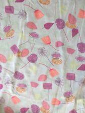 NWT LulaRoe Large Maxi Skirt - Light Blue w/ Dandelion Flowers Purple Coral Pink