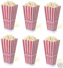 PLASTIC REUSABLE POPCORN POP CORN HOLDER CONTAINER BUCKET MOVIE FILM TV PARTY
