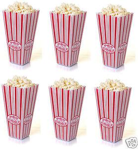 PLASTIC REUSABLE POPCORN POP CORN HOLDER CONTAINER BUCKET MOVIE FILM TV PARTY