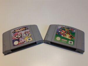Super Smash Bros. und SUPER MARIO 64 für Nintendo 64 Nur Module !!!!!