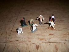 Star Wars Micro Machines Action Fleet figures Darth Vader Yoda Princess Leah