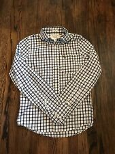 Mens Abercrombie & Fitch Size S Long Sleeve Button Up Casual Shirt Muscle Fit