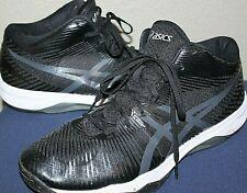 ASICS Men's Volley Elite FF MT Black/Dark Grey Volleyball Shoes B700N.9095 12.5