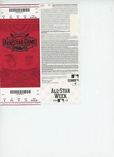 2015 MLB  ALL STAR GAME Ticket UNUSED MINT Cincinnati 7/14/15 Mike Trout